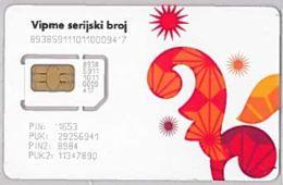 SIM CARD NOT ACTIVEMACEDONIA (E46.42.7 - Macedonië