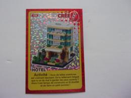 Carte LEGO AUCHAN CREE TON MONDE N° 108 Hôtel - Autres