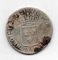 FRANCE, 1/3 Ecu, 1721, Silver, KM #30.21 - 987-1789 Royal