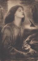 Arts - Tableau Du Peintre D. G. Rossetti - Beata Beatrix - Dante - Postmarked London 1910 - Pintura & Cuadros