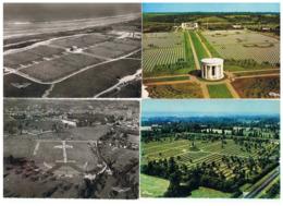 1938-623 / 4cp Cimetiéres Colleville 2 -bayeux-la Cambe  Débarquement 1944 La Vente Sera Retirée Le 05-10 - France