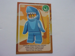 Carte LEGO AUCHAN CREE TON MONDE N° 78 L'homme Requin Shark Man Hombre Tiburon Haifischmann - Autres Collections