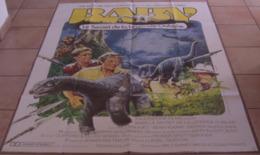 AFFICHE CINEMA ORIGINALE FILM BABY Secret De La Légende Oubliée TB DINOSAURE DIPLODOCUS NORTON KATT 1985 - Manifesti & Poster