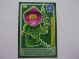 Carte LEGO AUCHAN CREE TON MONDE N° 136 Monstre Plante - Autres Collections