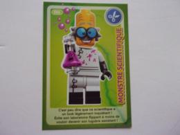 Carte LEGO AUCHAN CREE TON MONDE N°86 Monstre Scientifique - Autres