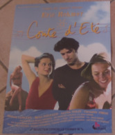 AFFICHE CINEMA ORIGINALE FILM CONTE D'ETE Eric ROHMER Melvil POUPAUD Amanda LANGLET 1996 TBE - Affiches & Posters