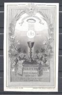 Image Pieuse  Souvenir D'ordination Daté Des 29 Et 30 Juin 1889 - Images Religieuses
