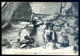 Cpa Du 22  Saint Michel En Grève Laveuses Au Bief Du Moulin  --- Plestin    LZ116 - Plestin-les-Greves