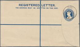 """Dubai: 1944 """"DUBAI/5 OC 4(4)"""" C.d.s. Used On Plain India Registered Envelope KGVI. 3+1½a. Blue, Size - Dubai"""