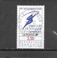 """2732  OBL  Y & T  Parcours De La Flamme Olympique  """"Logo Officiel""""  15A/20 - Used Stamps"""