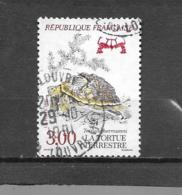 """2722   OBL  Y & T  Tortue Terrestre   """"Nature De France Esppèces Protégées"""" 15A/20 - France"""