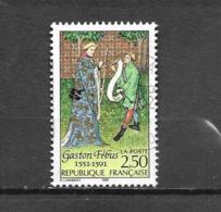 """2708   OBL  Y & T  Gaston Fébus  """"Héliogravure"""" 15A/20 - Francia"""