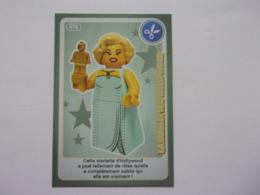 Carte LEGO AUCHAN CREE TON MONDE N°70 La Starlette D'Hollywood - Autres Collections