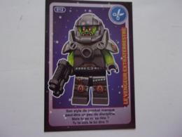 Carte LEGO AUCHAN CREE TON MONDE N°12 Le Vengeur Extraterrestre - Autres