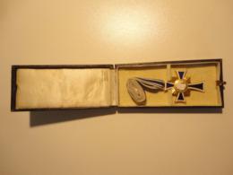 Mutterkreuz In Gold  Im Etui   Hersteller Deumer    2. WK WW  Erhaltung Top !    100% Original ! - Allemagne