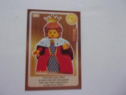 Carte LEGO AUCHAN CREE TON MONDE N°94 Reine Queen Köningin Reina - Autres Collections