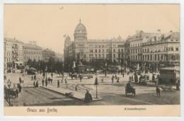 GRUSS  AUS  BERLIN   ALEXANDERPLATZ            2  SCAN   (NUOVA) - Deutschland