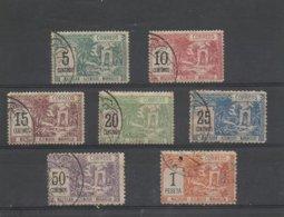 Maroc 1897 Poste Locale Mazagan Azemour Marrakech  Série 37/43  Cote YT 120€ - Marokko (1891-1956)