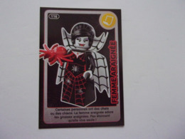 Carte LEGO AUCHAN CREE TON MONDE N°116 Femme Araignée Spider Women Spinnenfrau Mujer Arana - Autres Collections