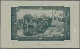 Thematik: Bauwerke-Brücken / Buildings-bridges: 1914, Lettercard KGV 1d. Die II (spur In Left Value - Brücken