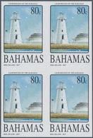 "Thematik: Leuchttürme / Lighthouses: 2004, Bahamas. Complete Set ""Bahamas Lighthouses (I)"" In IMPERF - Leuchttürme"