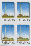 "Thematik: Leuchttürme / Lighthouses: 2005, Bahamas. Complete Set ""Bahamas Lighthouses (II)"" In IMPER - Leuchttürme"