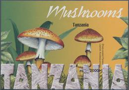 "Thematik: Pilze / Mushrooms: 2004, Tanzania. Imperforate Souvenir Sheet (1 Value) From The Issue ""Mu - Pilze"