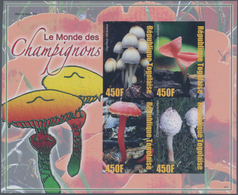 """Thematik: Pilze / Mushrooms: 2006, Togo. IMPERFORATE Miniatur Sheet For The Issue """"Mushrooms From Al - Pilze"""
