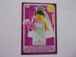 Carte LEGO AUCHAN CREE TON MONDE N°134 La Mariée - Autres Collections