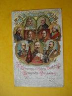 Zur Erinnerung A Das 200jährige Bestehen Des Königreichs Preussen - Litho.... - Royal Families