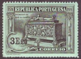 Portugal 1924 -  IV Centenário Do Nascimento De Luis De Camões 3$20 Nr. 326 Mundifil Côte € 5.00  Novo C/Goma - 1910-... Republic
