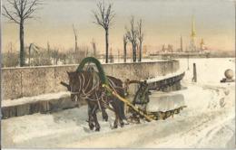 CPA Россия Russie - Русский тип - ледовая нагрузка - Type Russe - Charge De Glace - Russie