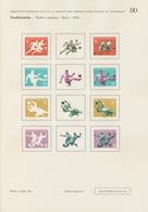 Thematik: Sport-Fußball / Sport-soccer, Football: 1954, Liechtenstein. Lot Containing In All 17 Time - Fussball