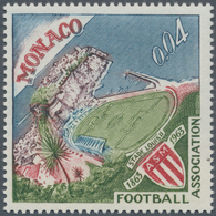 Thematik: Sport-Fußball / Sport-soccer, Football: 1963 Monaco, 0,04 F Centenary Of Football Associat - Fussball
