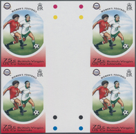 Thematik: Sport-Fußball / Sport-soccer, Football: 2004, BRITISH VIRGIN ISLANDS: 100 Years Internatio - Fussball