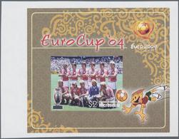Thematik: Sport-Fußball / Sport-soccer, Football: 2004, MICRONESIA: European Football Championship I - Fussball