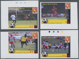 Thematik: Sport-Fußball / Sport-soccer, Football: 2004, PAPUA NEW GUINEA: 100th Anniversary Of Footb - Fussball