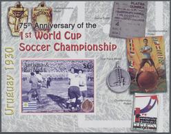 Thematik: Sport-Fußball / Sport-soccer, Football: 2005, ANTIGUA & BARBUDA: 75th Anniversary Of The 1 - Fussball