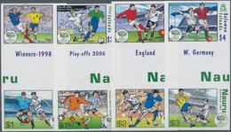 Thematik: Sport-Fußball / Sport-soccer, Football: 2006, NAURU And SOLOMON ISLANDS: Football World Ch - Fussball