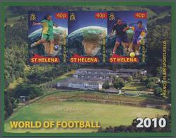 Thematik: Sport-Fußball / Sport-soccer, Football: 2010, ST. HELENA: Football World Championship In S - Fussball