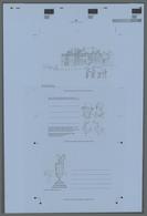 Thematik: Sport-Golf / Sport-golf: 1979, United Kingdom, Printers Progressive Proof In Black For The - Golf