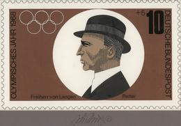 Thematik: Sport-Pferdesport / Sport Equestrian Sports: 1968, Bund, Nicht Angenommener Künstlerentwur - Reitsport