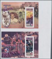 Thematik: Sport-Radsport / Sport-cycling: 2003, SIERRA LEONE And LIBERIA: 100th Anniversary Of Tour - Radsport