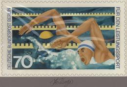 Thematik: Sport-Wassersport / Sport-water Sports: 1978, Berlin, Nicht Angenommener Künstlerentwurf ( - Sonstige