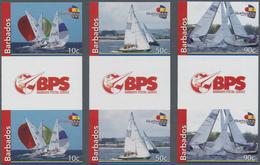 "Thematik: Sport-Wassersport-Segeln / Sport-water Sports-sailing: 2010. Complete Set ""Fireball-Regatt - Segeln"