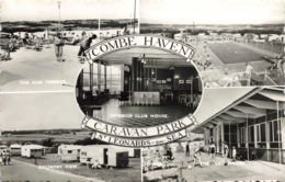 R215258 Combe Haven. Caravan Park. St. Leonards On Sea. Norman. Shoesmith And Etheridge. 1962. Multi View - Cartoline