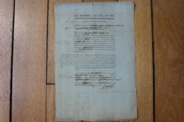 LA NATION LA LOI LE ROI  ENGAGEMENT NOAILLES DRAGON 1792  HAUTE GARONNE - Historische Dokumente