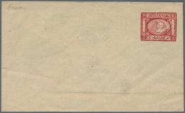 Ägypten - Ganzsachen: 1871 Penasson Essay Of 'Sphinx & Pyramid' 1pi. In Deep Rose-red On Envelope, F - Ägypten