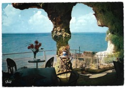 Cpsm Meschers - Les Grottes Des Fontaines - Café-Restaurant - Meschers