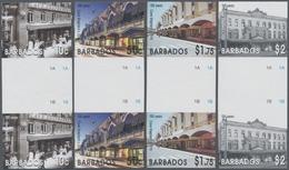 Barbados: 2006, 100 Years Department Store 'Cave Shepherd' In Bridgetown Complete Set Of Four In Ver - Barbados (1966-...)